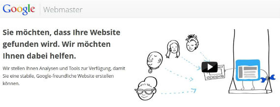 Google Webmaster Tools und Google Webmaster Richtlinien