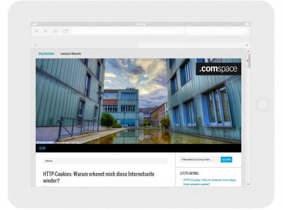 responsive Webdesign iPad