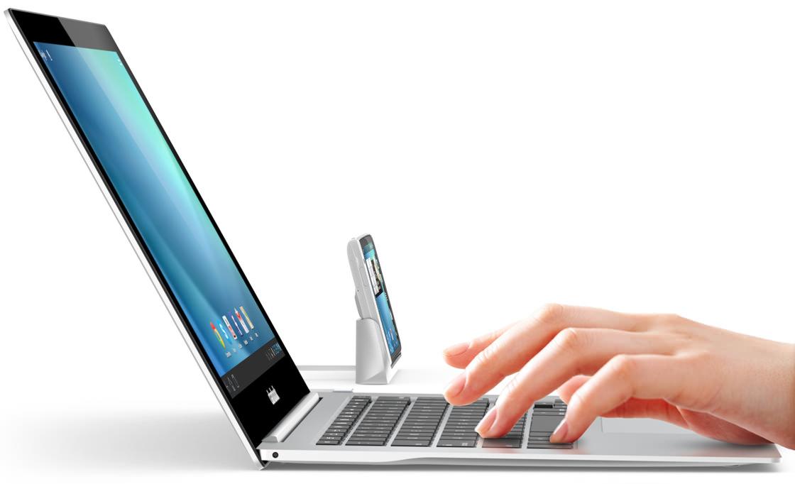 Clambook Bedienkonzept für Smartphones