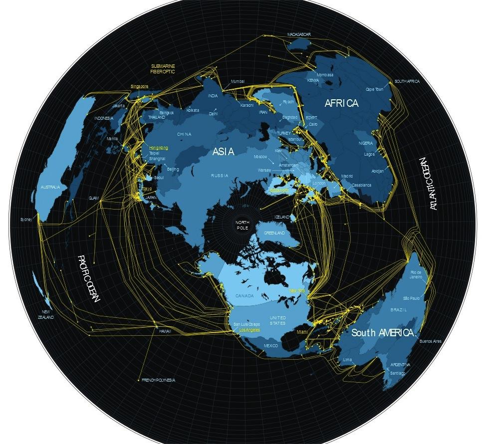 Bild: GeoTel, designed von Nicolas Rapp für Fortune
