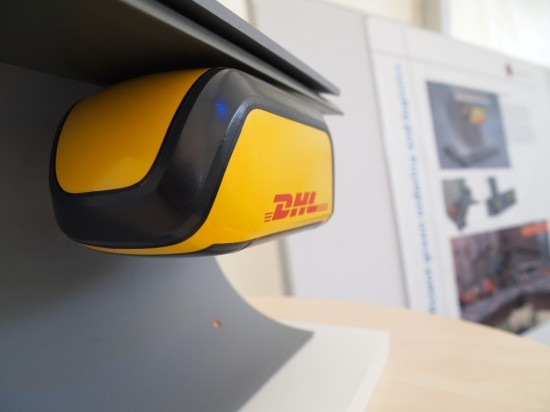 e-goal DHL Mole automatisches Versorgungsfahrzeug
