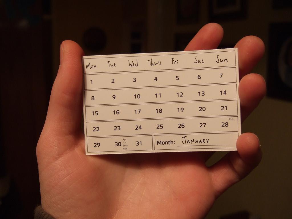 Kalender 2013 cc Flickruser Joe Lanman