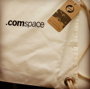comspace CeBIT 2013 Turnbeutel