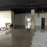 Boden,geschliffen, grundiert, lackiert, versiegelt, Bielefeld, comspace, neues Büro
