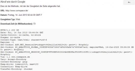 HTTP-Antwortcode überprüfen