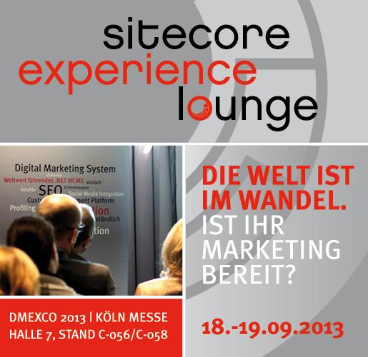 Sitecore dmexco experience Lounge
