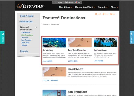 Sitecore Webseiten Automatisierung Beispiel 1