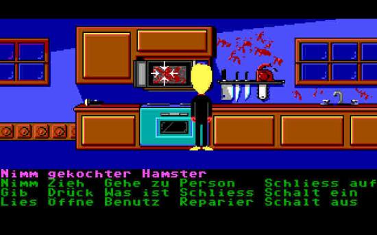 Maniac Mansion gekochter Hamster (tentakelvilla.de)