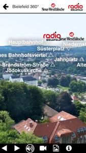 Screenshot 360 Grad Bielefeld App