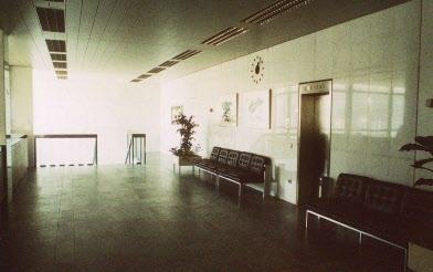 Unser 1. OG - heute Stellplatz der Besprechungs-Sauna (c) Historisches Archiv Deutsche Bundesbank