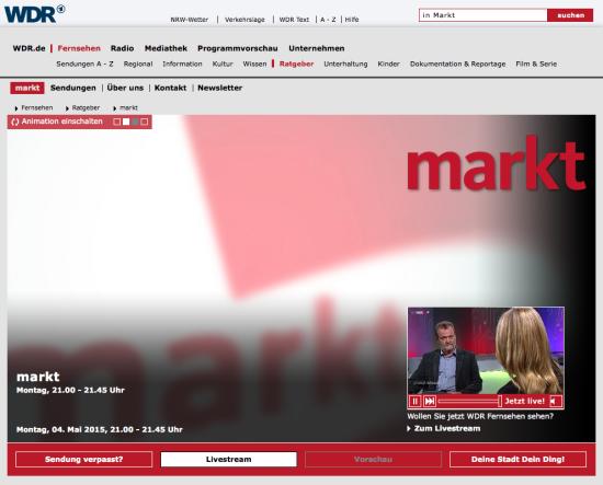markt-webseite