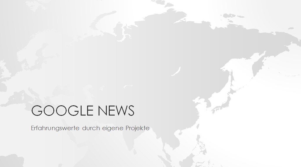 Google News - Beitrag zum Online Marketing Talk 2015