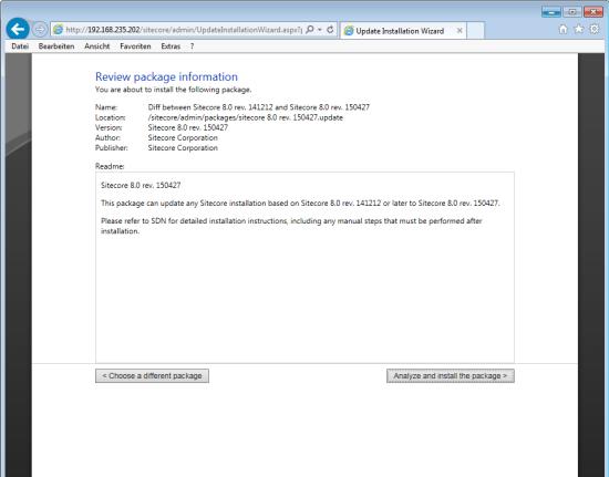 Sitecore Update-Installation-Wizard
