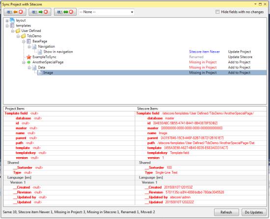 Sitecore Versionskontrollsystem
