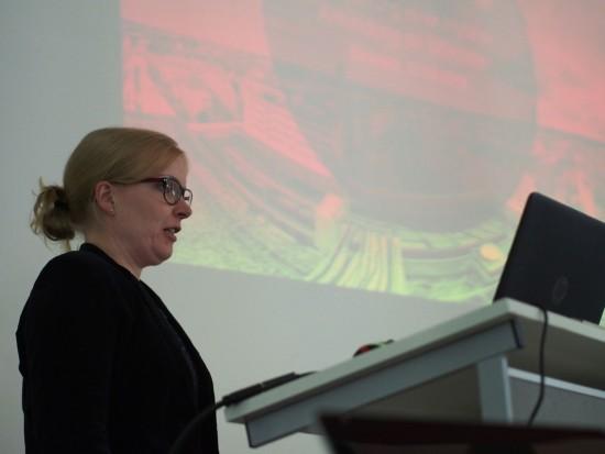 Präsentation Friederike bei dem SUG Deutschland Treffen in Bielefeld