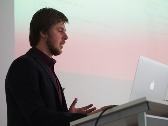 Präsentation Maksym Ponomarenko Agentur netzkern