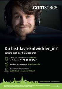 SMS-Recruiting-Plakat-John
