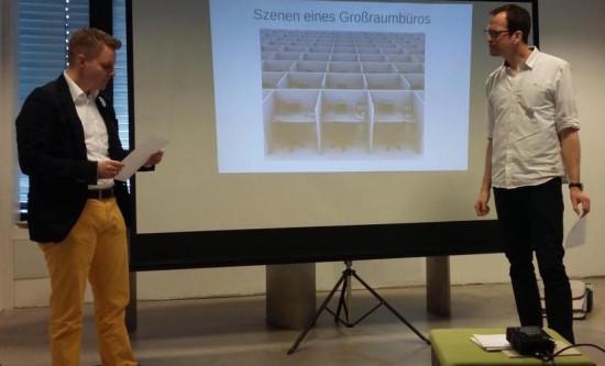 Bei Matthias Mohmes Vortrag wurden die Teilnehmer direkt mit einbezogen