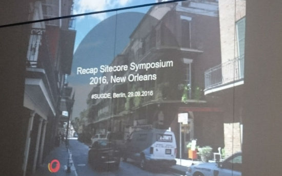 comspace - Rückblick auf das Sitecore Symposium New Orleans