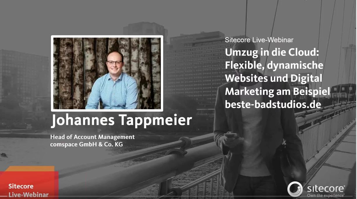 Webinar Umzug von Websites in die Cloud