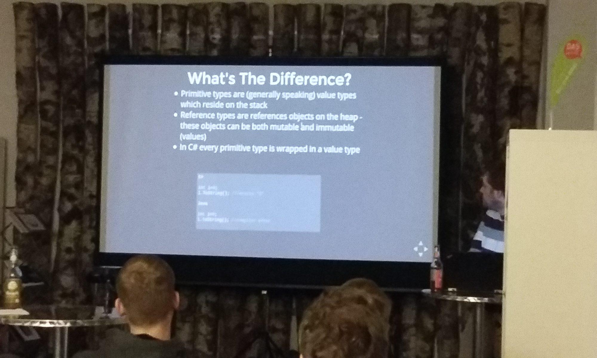 Unterschiede zwischen Java und #C