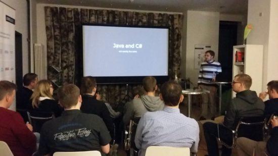 Vortrag Java versus #C - Java User Group Bielefeld