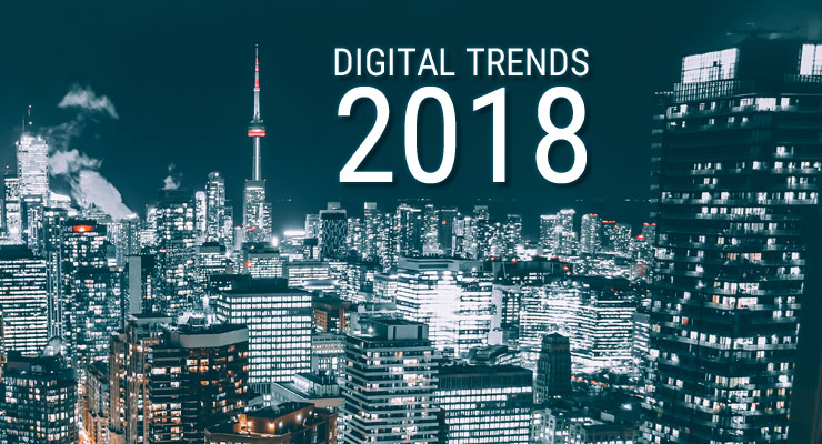 Internationale Digitalisierungs Trends 2018
