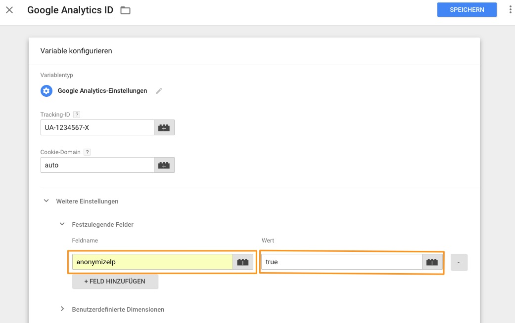Google Tag Manager - Google Analytics Settings (2)