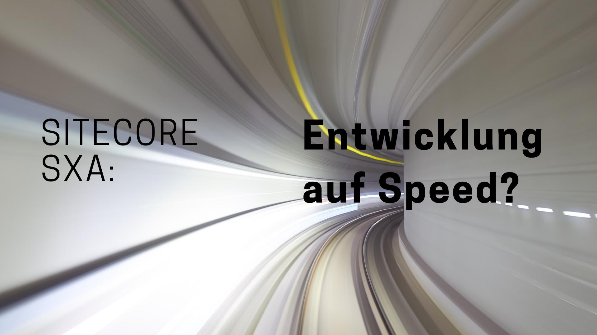 sitecore-sxa-speed