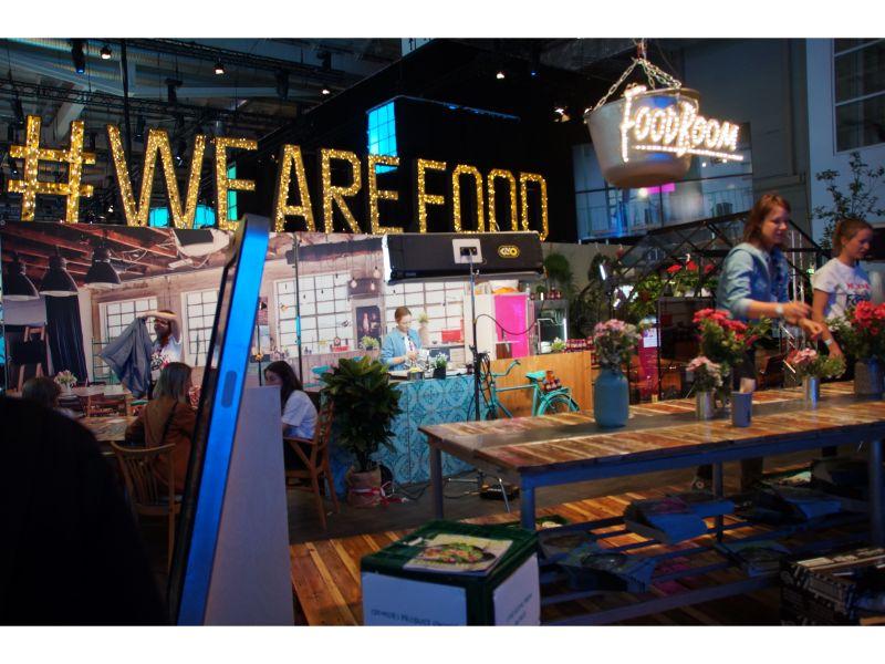 Foodboom auf der OMR
